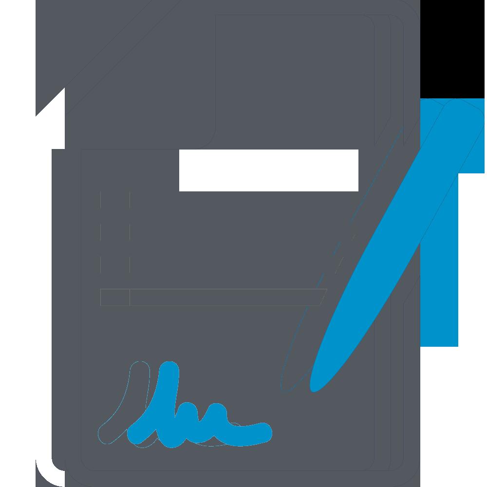 Иконка заполнения документа