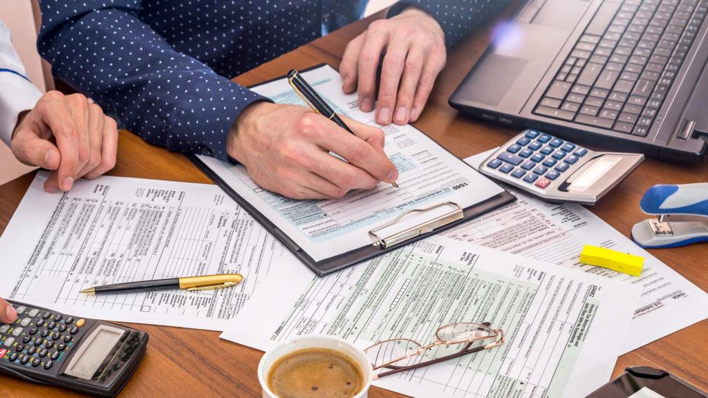 Заполнение налоговой декларации США